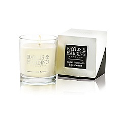 Baylis & Harding - Sweet Mandarin & Grapefruit Single Wick Candle