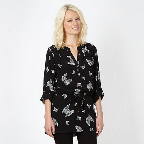 Butterfly by Matthew Williamson - Designer black butterfly tunic