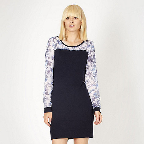 Butterfly by Matthew Williamson - Designer blue knitted tunic