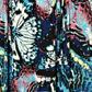 Butterfly by Matthew Williamson - Designer dark blue butterfly jersey maxi dress Alternative 2