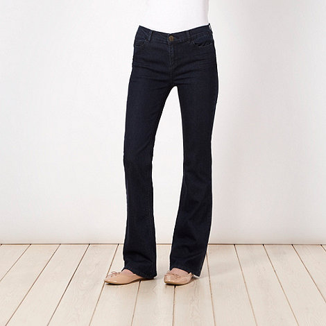 Butterfly by Matthew Williamson - Dark blue bootcut jeans