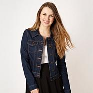 Designer dark blue denim jacket