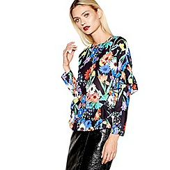 Studio by Preen - Multi-coloured floral print top
