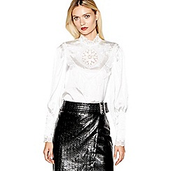 Studio by Preen - Ivory victoriana lace blouse