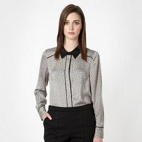 Jonathan Saunders/EDITION - Designer grey spot blouse