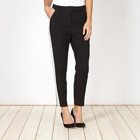 preen-edition - Designer black stripe side trousers
