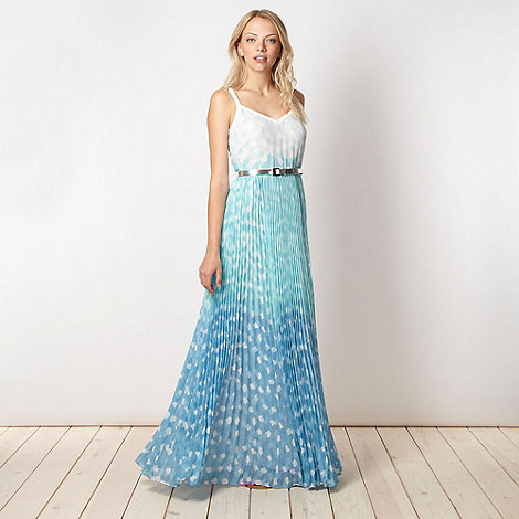 Jonathan Saunders/EDITION - Designer blue ombre maxi dress