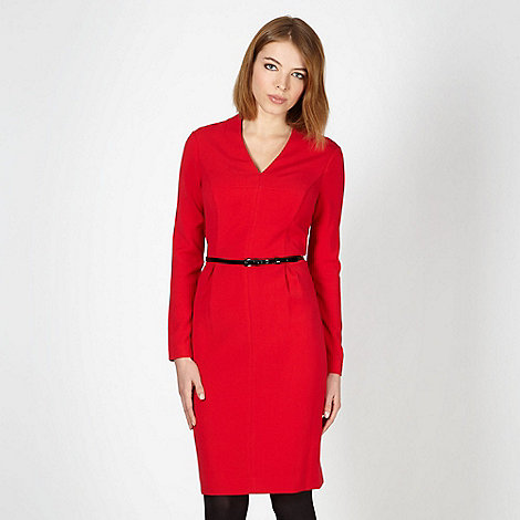 Jonathan Saunders/EDITION - Designer red cutout crepe dress