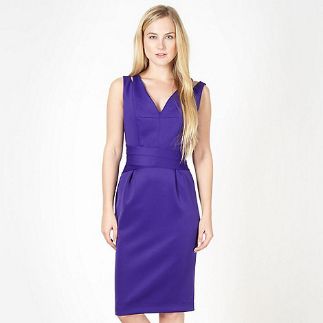 Preen/EDITION - Designer purple ultra power dress