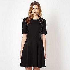 Todd Lynn/EDITION - Designer black fit and flare dress