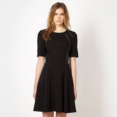 Todd Lynn/EDITION - Designer black fit and flare dress