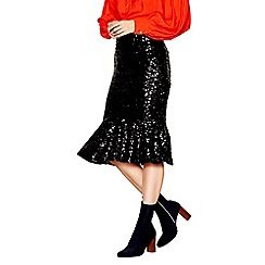Studio by Preen - Black sequin skirt