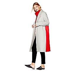 Studio by Preen - Grey wool rich coat
