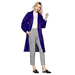 Studio by Preen - Purple wool blend coat