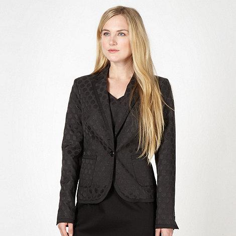 Jonathan Saunders/EDITION - Designer black jacquard blazer
