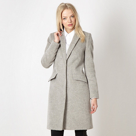 Jonathan Saunders/EDITION - Designer grey wool blend coat