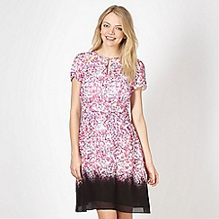 Preen/EDITION - Designer pink cherry blossom dress