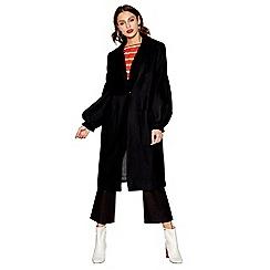 Studio by Preen - Black wool blend coat