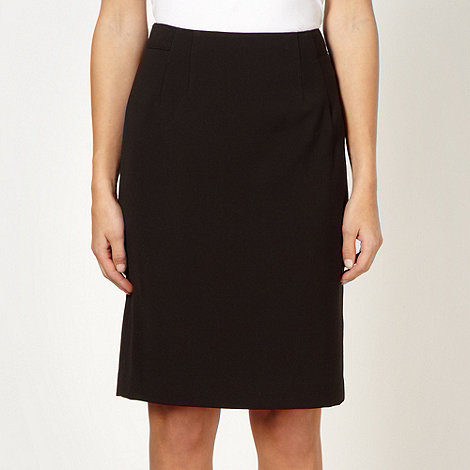 Jonathan Saunders/EDITION - Designer black seam detail pencil skirt