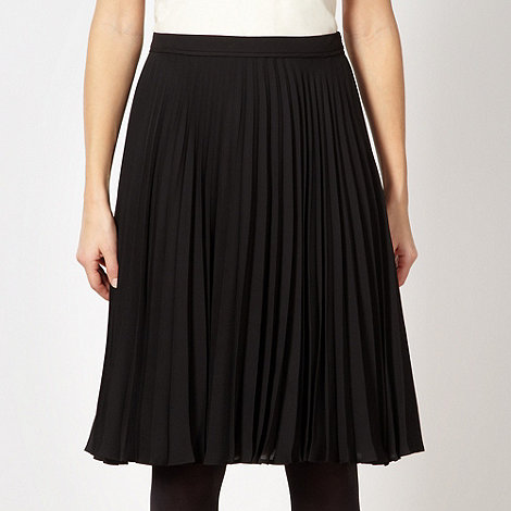 Jonathan Saunders/EDITION - Designer black chiffon pleated skirt