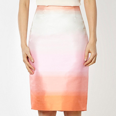 Jonathan Saunders/EDITION - Designer lilac ombre striped pencil skirt