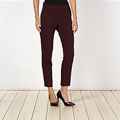 Jonathan Saunders/EDITION - Designer wine soft trousers