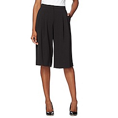Jonathan Saunders/EDITION - Designer black pleated culottes