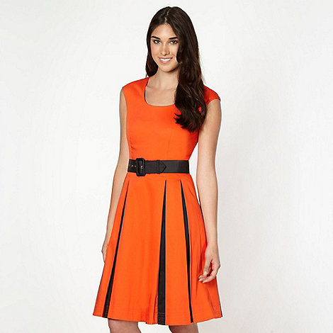 Jonathan Saunders/EDITION - Designer orange fit and flare dress