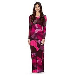 Jonathan Saunders/EDITION - Designer pink circle print maxi dress