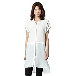 Todd Lynn/EDITION - Designer white longline shirt