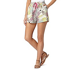 Butterfly by Matthew Williamson - Designer green parrot shorts