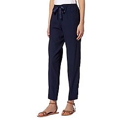 Butterfly by Matthew Williamson - Designer navy bow trousers
