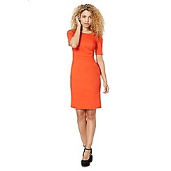Preen/EDITION - Designer orange pencil dress