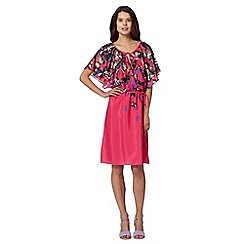 Butterfly by Matthew Williamson - Designer pink butterfly gypsy dress
