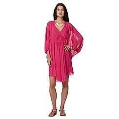 Butterfly by Matthew Williamson - Designer pink kaftan dress