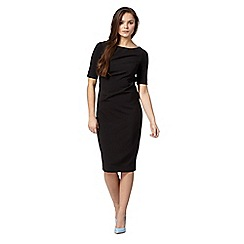 Preen/EDITION - Designer black form fitting dress