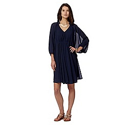 Butterfly by Matthew Williamson - Designer navy kaftan dress