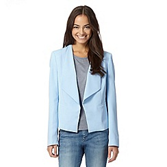 Preen/EDITION - Designer pale blue waterfall jacket