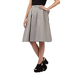 Giles/EDITION - Grey bow detail skirt
