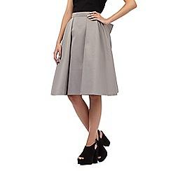 Giles/EDITION - Grey bow detail skirt