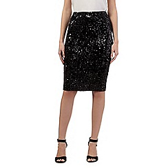 Todd Lynn/EDITION - Black sequin skirt