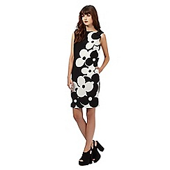 Giles/EDITION - Monochrome daisy print bubble dress