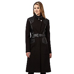 Todd Lynn/EDITION - Black belted coat