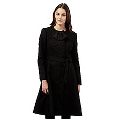 Giles/EDITION - Black belted coat