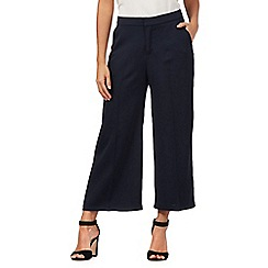 Giles/EDITION - Navy wide leg culottes