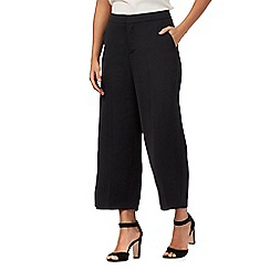 Todd Lynn/EDITION - Black wide leg culottes