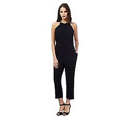 Giles/EDITION - Navy scallop jumpsuit