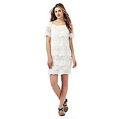 Preen/EDITION - White lace tunic dress