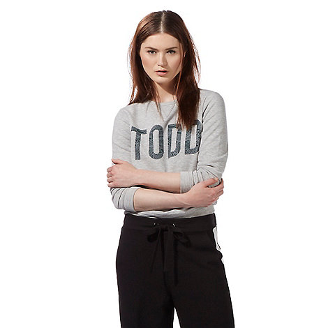 todd-lynn-edition - Grey Todd sweatshirt