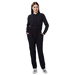Preen/EDITION - Navy 'Teddy' jumpsuit
